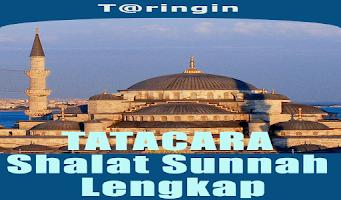 Screenshot of Tatacara Shalat Sunnah