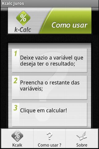 【免費財經App】kCalc Juros-APP點子