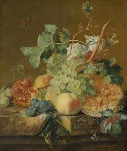 RIJKS: Jan van Huysum: painting 1749