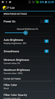 Screenshot of Lux Automatic Brightness