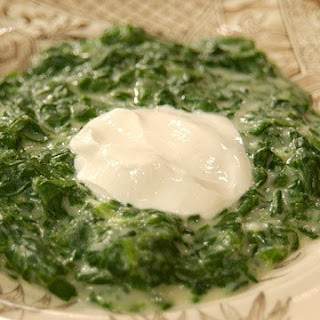 Creamed Spinach with Mrs. Kostyra