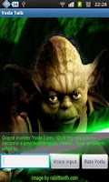 Screenshot of Psycho Yoda Talking Shrink