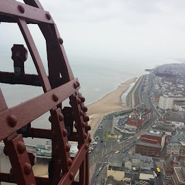 Blackpool Tower by Mark Butterworth - Buildings & Architecture Architectural Detail