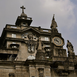 THE CLOCK OF ETERNITY by Abba Rizal - Buildings & Architecture Statues & Monuments ( object )