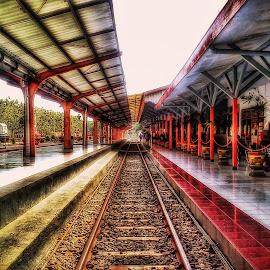 Stasiun Jember by Randi Pratama M - Instagram & Mobile Android ( jember, railroad,  )