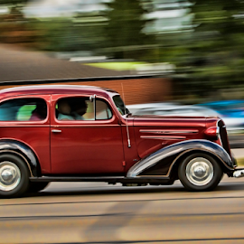 Zoom by Pat Eisenberger - Transportation Automobiles ( car, automobile, auto, sporty, antique )
