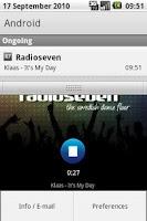 Screenshot of Radioseven