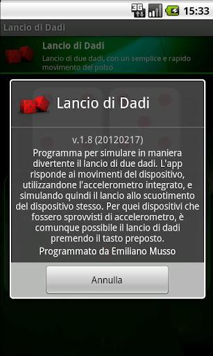 玩免費紙牌APP|下載Lancio di Dadi app不用錢|硬是要APP
