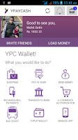 Screenshot of YPAYCASH Mobile Wallet