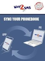 Screenshot of Way2SMS FREE SMS