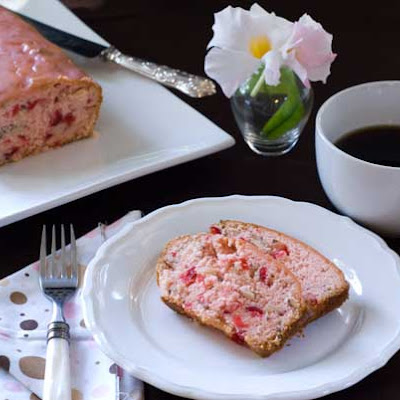 Gluten Free Cherry Almond Loaf