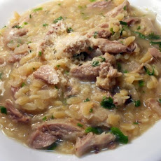 Chicken, Risoni and Lemon Soup