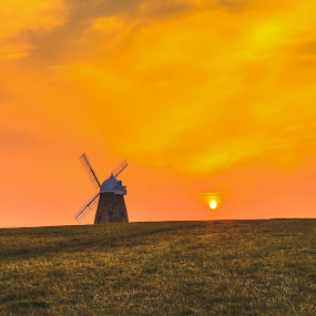 Halnaker Windmill by Darren Curtis - Landscapes Prairies, Meadows & Fields ( cityscapes, 2014-03 halnaker windmill, copyright-2014 all rights reserved, landscapes of sussex, seascapes, info@darrencurtisphotography.co.uk, living landscapes, landscapes, fine art photography., sussex landscapes, street photography )