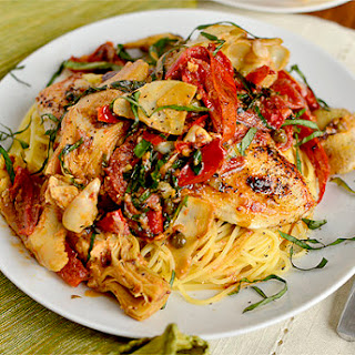 Mediterranean Smothered Chicken