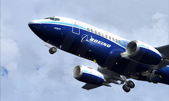 Screenshot of Boeing Wallpapers