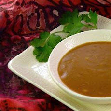 The Best Thai Curry-Peanut Sauce