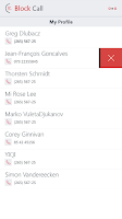 Screenshot of Block Unwanted Callers
