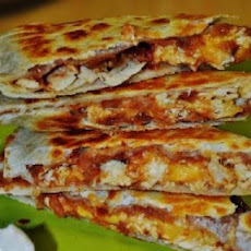 Carla's Bacon and Chicken Quesadillas
