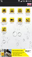 Screenshot of Raiffeisen mobilno bankarstvo