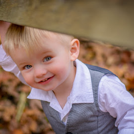Brayden by Brandi Davis - Babies & Children Children Candids ( child, outdoor, smile, toddler, eyes )