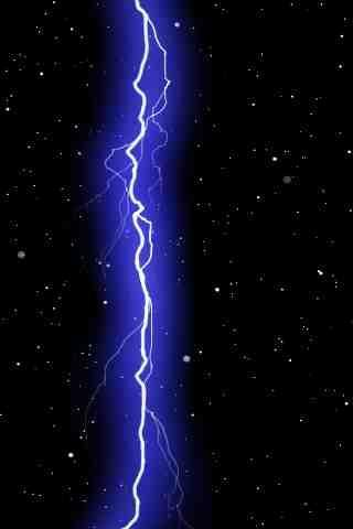 Live Wallpaper:Lightning Space