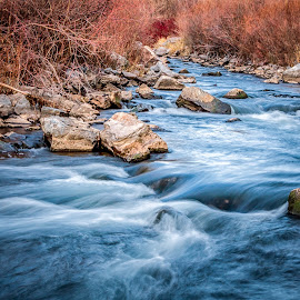 by Mike Vought - Landscapes Waterscapes ( utah, river )