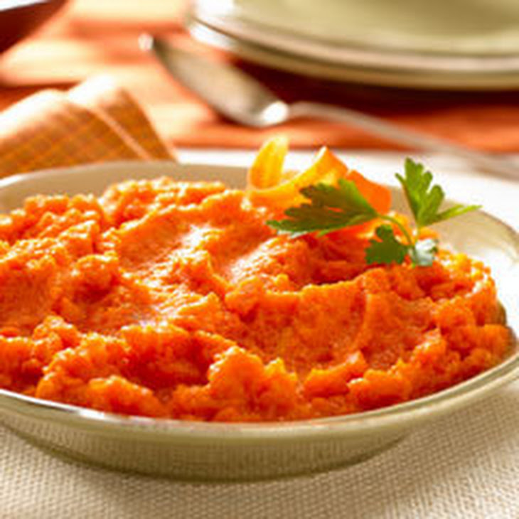 Easy Mashed Gingered-carrots