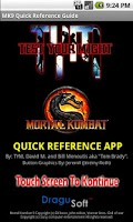 Screenshot of MK9 Quick Reference Guide