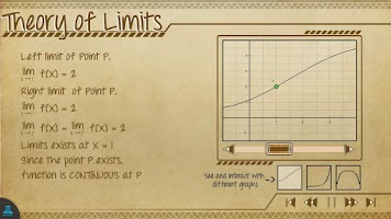 Screenshot of Calculus Math App Lite