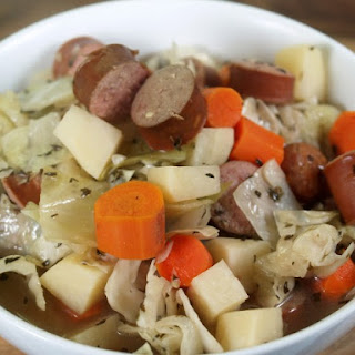 Slow Cooker Kielbasa Stew