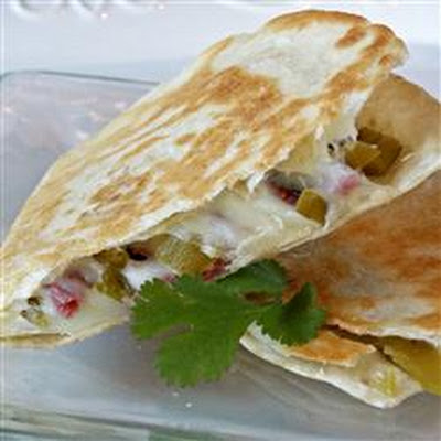 Southwestern Corned Beef Quesadillas!