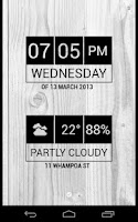 Screenshot of Minimal Date & Time