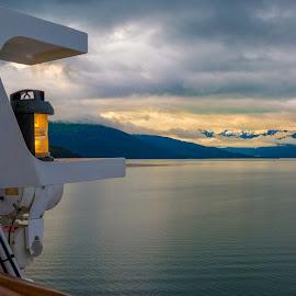 To Juneau by Joel Provost - Landscapes Travel ( disney wonder, alaska, juneau, sunrise, inside passage, alaska cruise, dcl )