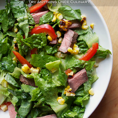 Grilled Steak Southwest Salad
