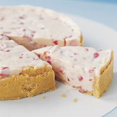Strawberry & White Chocolate Cheesecake