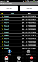 Screenshot of Counter log (2 Items)
