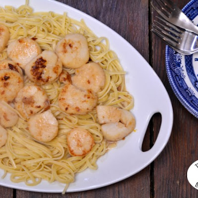 Scallops L'Orange & Linguine