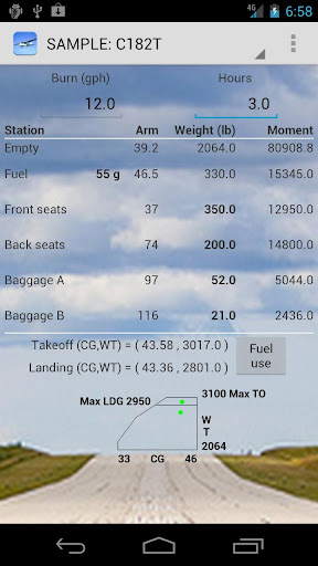 Aircraft Weight Balance