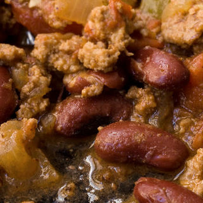 Bison and Bean Chili