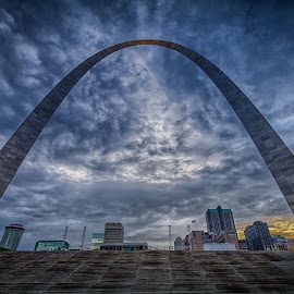 Saint Louis Archway by Ron Meyers - Buildings & Architecture Statues & Monuments ( st louis )