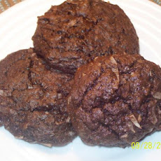 Kirsten's Easy Choconut, Rum Cookies