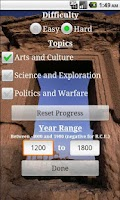 Screenshot of Learn World History (Free)