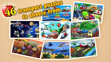 Screenshot of Transport Jigsaw Puzzles HD