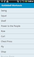 Screenshot of Kettlebell Workouts Free