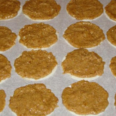 German Lebkuchen With German Baking Wafers Oblaten