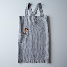 Fog Linen Cross Apron