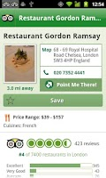 Screenshot of London City Guide