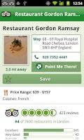 Screenshot of London City Guide