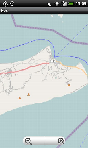 Kos Street Map