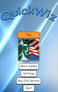 QuickWiz with USA - screenshot